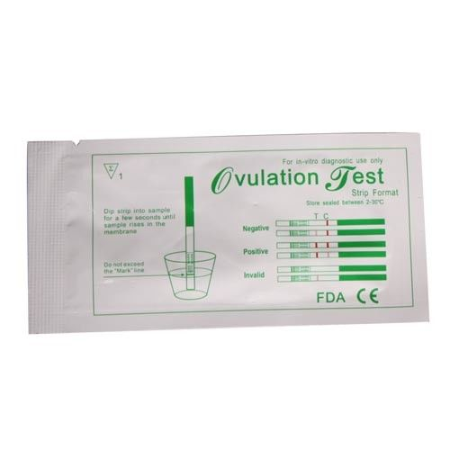 CE FDA In Vitro Diagnostic Reagents Ovulation Test Strips Luteinizing Hormone