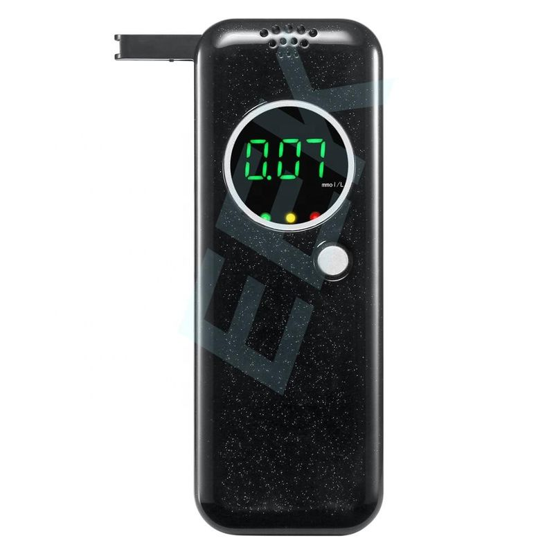 Portable Ketone Breath Analyzer , Digital Ketone Breathalyzer With 6 Replaceable Mouthpieces